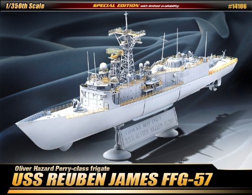 1/350 USS Reuben James FFG-57, Premium Edition