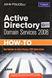 img - for Active Directory Domain Services 2008 How-To book / textbook / text book