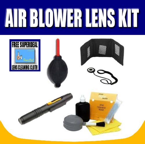 Air Blower + Lens Pen + Lens Cleaning Kit and Complimentary FREE Exclusive Super Deal Micro Fiber Cleaning Cloth