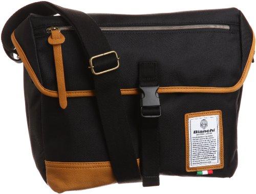 [ビアンキ] Bianchi MESSENGER BAG(M) LBTC03 90 (ブラック)