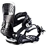 Ride Delta MVMNT Snowboard Bindings Black Size Large