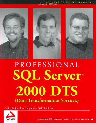 Professional SQL Server 2000 DTS (Data Transformation Services)