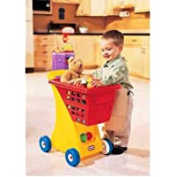 Little Tikes Shopping Cart,Play Shopping Cart Has A Deep Basket For Additional Storage