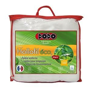 Dodo hollofil eco 2 couette 140 x 200 cm chaude synth tique cuisi - Couette dodo hollofil eco 2 ...