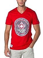 CANADIAN PEAK Camiseta Manga Corta Jimothe (Rojo)