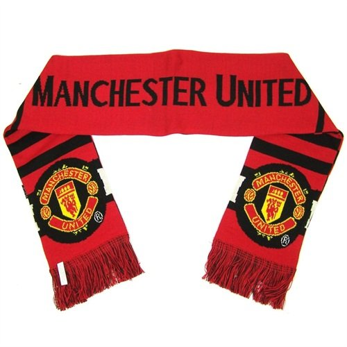 Manchester United 2014 Bar Scarf     United