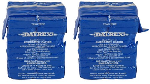 Datrex 3600 Calorie Emergency Food Bar for Survival