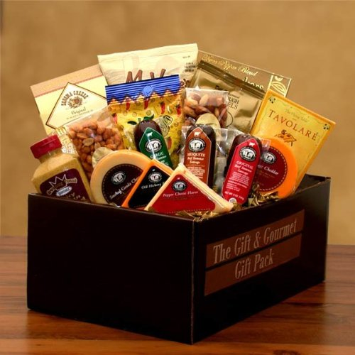 Savory Selections Cheese & Meat Gourmet Gift