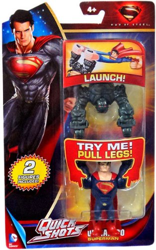 Man of Steel Movie Quick Shots Ultrahero Superman - 1