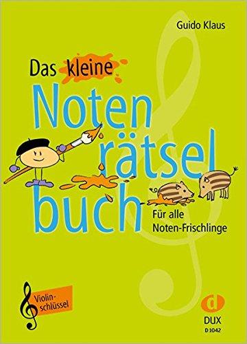 Das-kleine-Notenrtselbuch-Violinschlssel-Fr-alle-Noten-Frischlinge