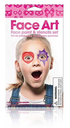 Girl Face Art Face Painting Kit
