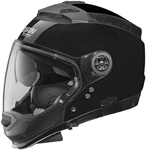 Nolan N44 Trilogy Solid Helmet (Metal Black, Large)