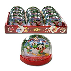 Mickey Clubhouse Disney Mickey Christmas Lenticular Plastic Snowglobe at Sears.com