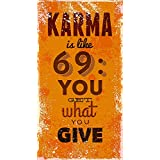 PPD Office Wall Poster Office Door Poster Home Wall Poster Wall Decor Poster (KARMA 69)