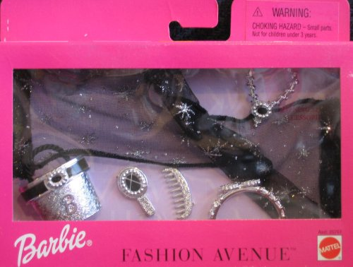 Barbie Fashion Avenue Evening Star Accessories Pack (1999)