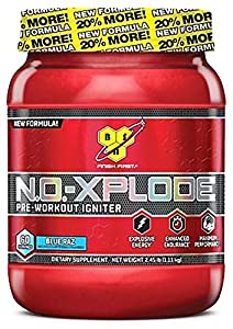 BSN NO-Xplode Caffeine Free Pre-Workout Supplement