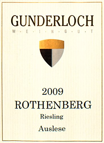 2009 Gunderloch Nackenheim Rothenberg Riesling Auslese Germany 750 Ml