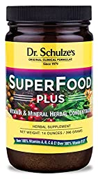 (2) Dr. Schulze / Schulze\'s Superfood Superfoods Plus!14 0z each