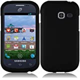 Generic Hard Cover Case for Samsung Galaxy Centura S738C - Retail Packaging - Black