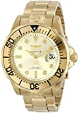 Invicta 3051 47mm Automatic Gold Plated Stainless Steel Case Gold Plated Stainless Steel Mineral Men's Watch