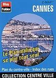 echange, troc Plans Blay Foldex - Plan de centre-ville : Cannes (avec un index)