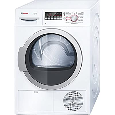 Bosch WTB86201IN Condensed Stainless Steel Drum Dryer (8 Kg, White)
