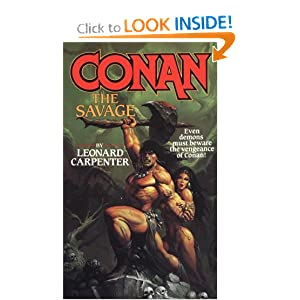 Conan: The Savage by Leonard Carpenter