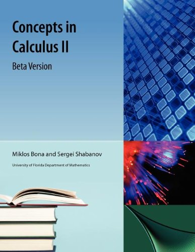 Concepts in Calculus II Beta Version
