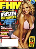 FHM March 2006 Kristin Chenoweth on Cover, Jenny McCarthys Sister, Nascar Preview Pull-Out, Danielle Gamba, Middleweight Champ Jeff Lacy, Dale Earnhardt Jr, Courtney Friel/World Poker Tour, John Daly