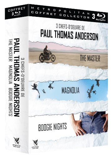 Coffret paul thomas anderson : boogie night ; magnolia ; the master [Francia] [Blu-ray]