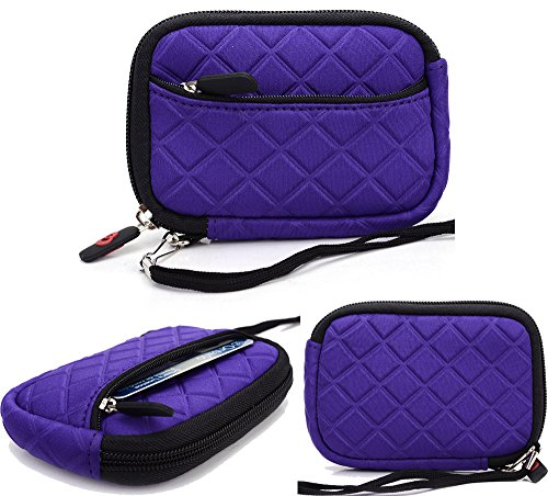 Purple: Universal Pouch Cover | Canon Powershot Elph 110 Hs| Elph 320 Hs| Elph 330 Hs| Elph 500 Hs