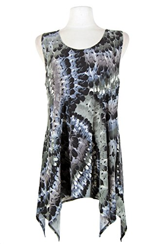 Details for Jostar HIT Side Drop Tank Tunic with Print