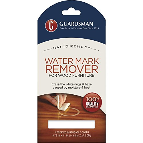 3 Guardsman Water Mark Ring Remover Cloth Wood Furniture Damage Repair Reusable (Perfect Cloth compare prices)