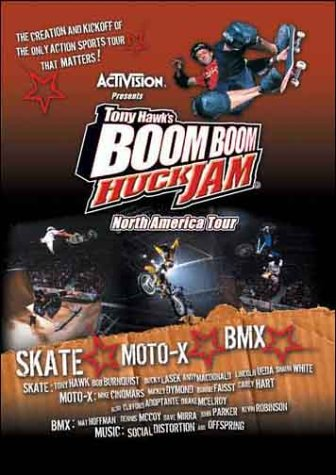 Tony Hawk's Boom Boom Huck Jam North American Tour
