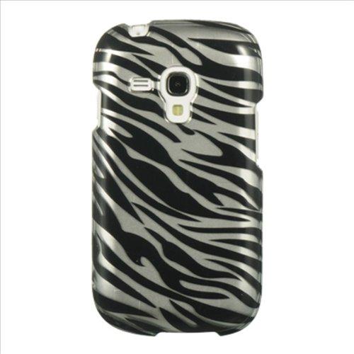 Dream Wireless CASAMGTI8190SLZ Slim and Stylish Design Case for the Samsung Galaxy S3 Mini - Retail Packaging - Silver Zebra (Sport Case Samsung S3 Mini compare prices)