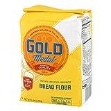 Gold Medal Better For Bread Flour, 5 lb (Tamaño: 80 Ounces)