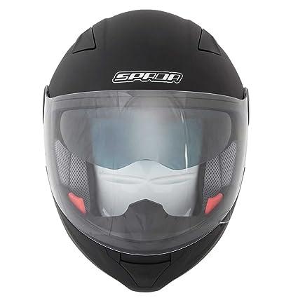 Nouveau casque de moto Spada de Duo Matt Black