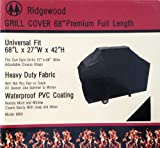Ridgewood Grill Cover 68 Inch Heavy Duty 600D Polyester Fabric Waterproof PVC Coating NOT Vinyl 68