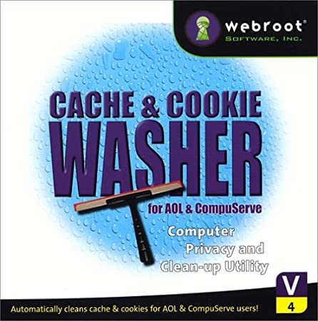 Cache & Cookie Washer For AOL & Compuserve 4.0