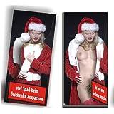 Weihnachts-Schokolade SEXY SURPRISE , Vollmilch