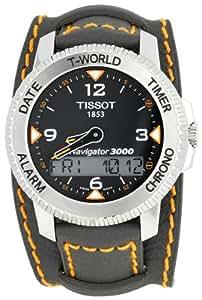 Tissot Men's T96146832 T-Tactile Navigator 3000 Grey Cuff Watch