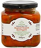 Granny's Secret Roasted Chopped Red Peppers in Oil with Garlic 550 g