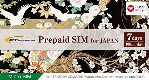 Prepaid SIM for JAPAN 【7days】 マイクロSIM