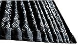 D.A.D (GARSON/ギャルソン) ラグジュアリー カーテンキット モノグラムデザイン ブラック サイズS LC002-01