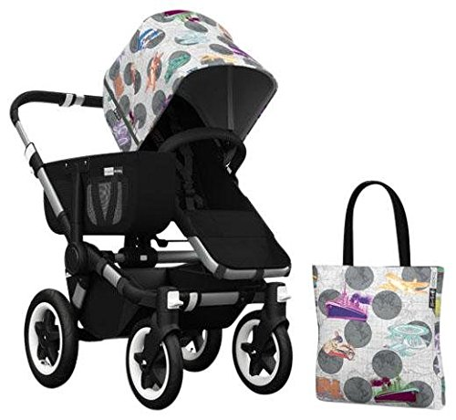 Bugaboo Donkey Accessory Pack - Andy Warhol Transport/Dark Grey (Special Edition)