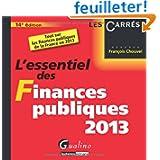 L'essentiel des Finances publiques 2013