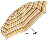Knirps X1 Prints Umbrella - Ice Sticks Brown Stripes