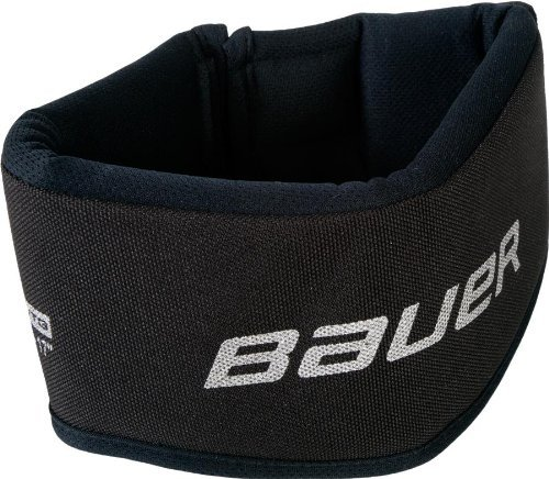 Bauer Youth NG NLP7 Core Neck Guard Collar, Black - 1