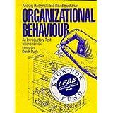 Organizational Behaviour: An Introductory Textby Andrzej Huczynski