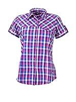 Izas Camisa Mujer Ovek (Fucsia / Azul)